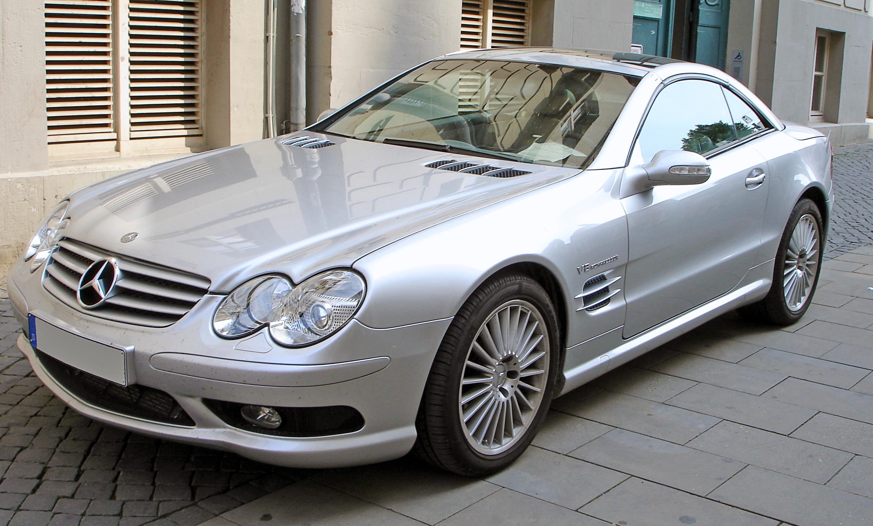 Mercedes SL W320